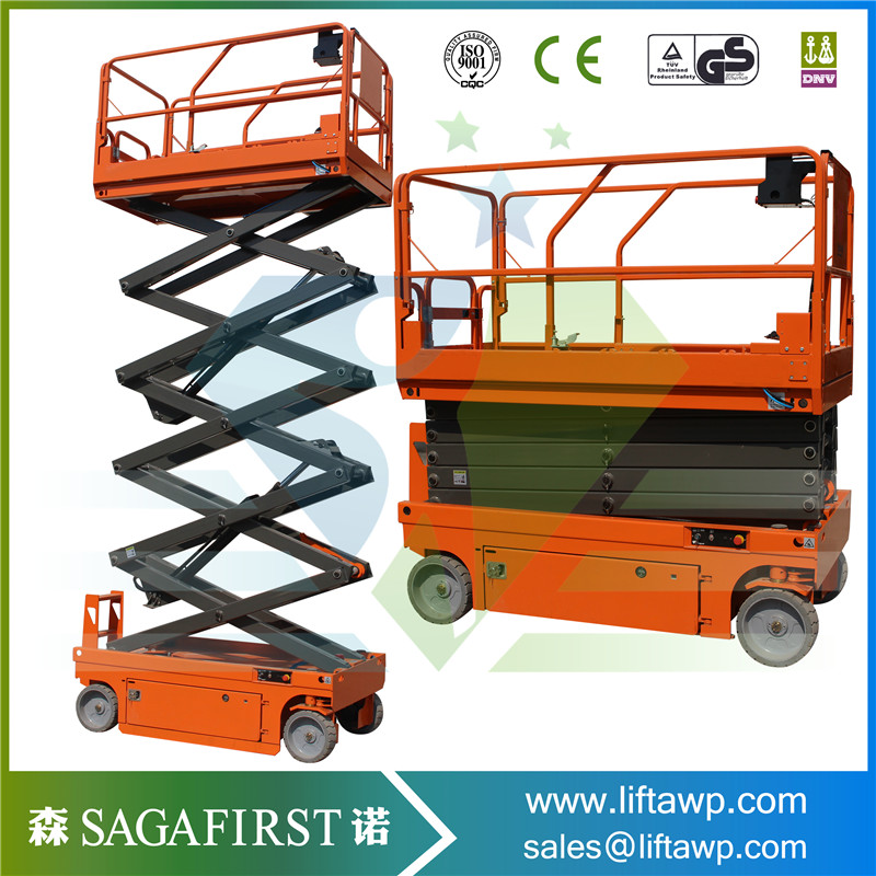 Automatic Battery Powered Self Propelled Scissor Lift