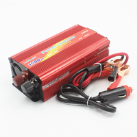 Car Vehicle motor Inverter 1500W DC 12V~24V to AC 220V Power Inverter Adapter Car Chargers Converter USB Free Shipping