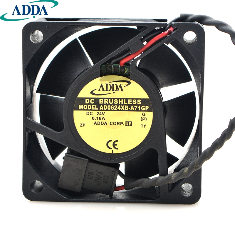 Cooler Fan for for ADDA 13525 ADN512UB-A91 135 135 25mm 12V Dual Ball Bearing Cooling Fan for 13513525mm