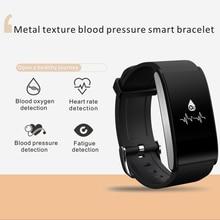 S12 умный Браслет Фитнес трекер Браслет Montres Presión arterial смарт-браслет для Android IOS PK Xiaomi Группа 2