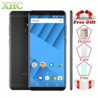 Vernee M6 4G B 6 4G B мобильный телефон 5,7 18:9 полный Экран 16MP 8MP Восьмиядерный 4G LTE 1440x720 пикселей Android 7,0 Dual SIM смартфонов