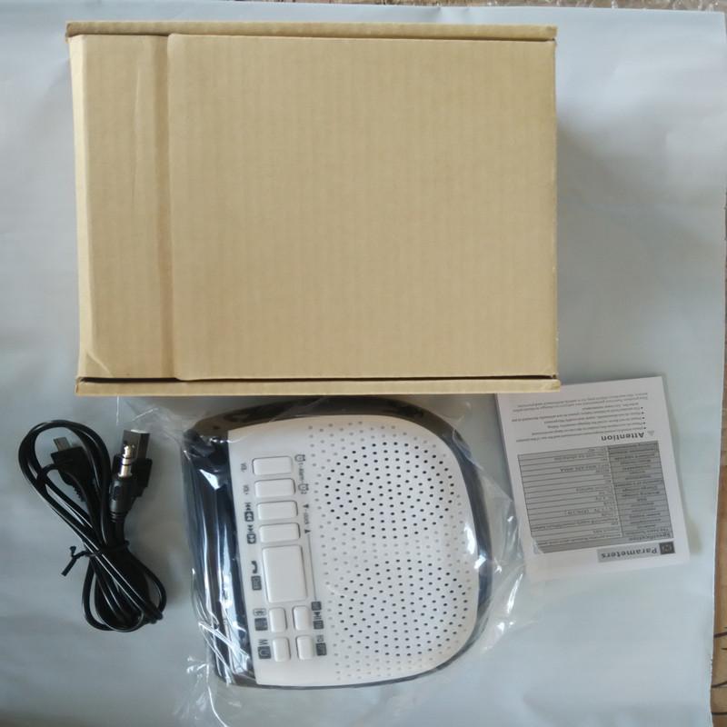 Mini Portable Dual Alarm Clock Bluetooth Stereo Speaker LCD Digital FM Radio Bluetooth Wireless Speaker Support TF For Computer (1)