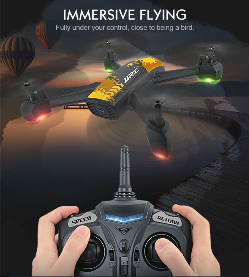 2018 new H55 GPS Positioning Altitude hold Drones 720P WIFI Camera Selfie TRACKER FPV Quadcopter Rc Helicopter vs X8PRO X183