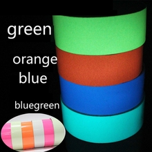 5M Luminous Tape Self-adhesive Glow In The Dark Safety Stage Home Decorations 30mm/40mm/50mm Width LA2