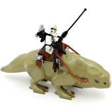 LEPIN Star Wars 7 Dewback Desert Storm Soldiers Troopers Minifigures Building Blocks Toys Kids Action Figure Gift C0A504