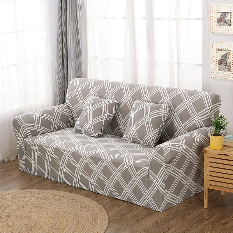 Up To 3 Seats Stretchable Sofa Cover 31
