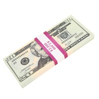 Motion Picture Money 20 Dollar Bills Prop Money Full Print 2 Sided Realistic Money Stack,Copy Money Play Money for Movie,TV