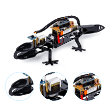 SunFounder Bionic Robot Lizard Visual Programming Educational Robot Kit for Kids Remote Control DIY Toy