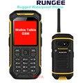 Original X6 Rungee IP68 Teléfono Resistente al agua con la Función de Walkie Talkie Teléfono Móvil GSM de Doble tarjeta SIM de doble modo de espera x1
