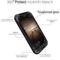 original Huawei mate 9 accessories 360 full luxury metal phone cases for huawei mate9 5.9