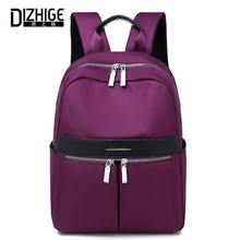 DIZHIGE Brand Fashion Large Capacity Women Backpack High Quality School Bags For Women Multi-pocket Waterproof Oxford Travel Bag gsq personality large capacity men backpack high quality water proof oxford hot hasp style students bag fashion travel bags