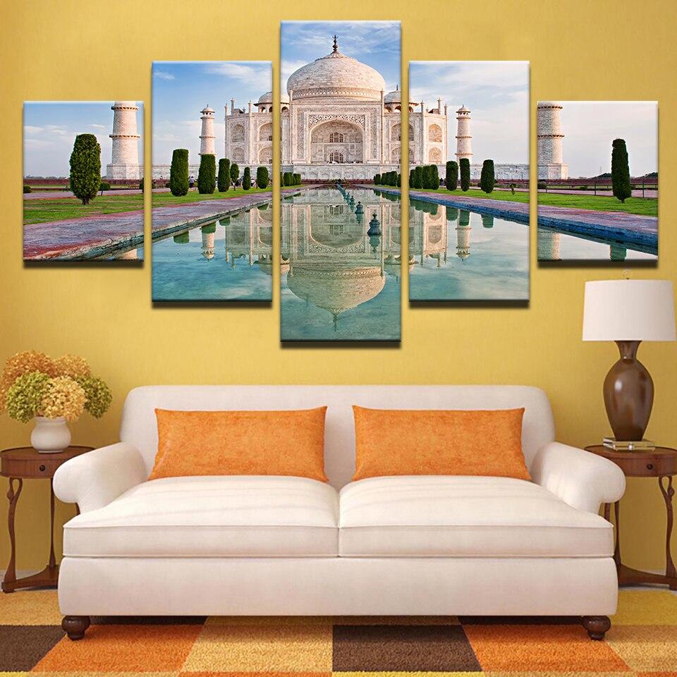 Arte de la pared de la lona cuadros marco Decoración para el hogar ...