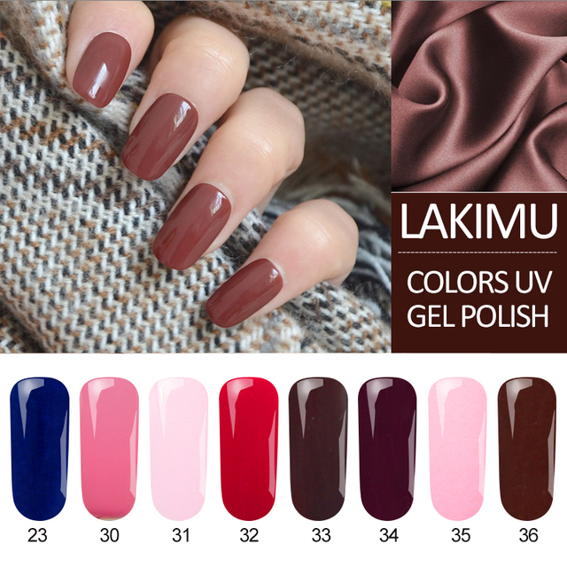Lakimu Gel Nail Polish Colors Nail Gel Lak Semi Permanent Nail ...