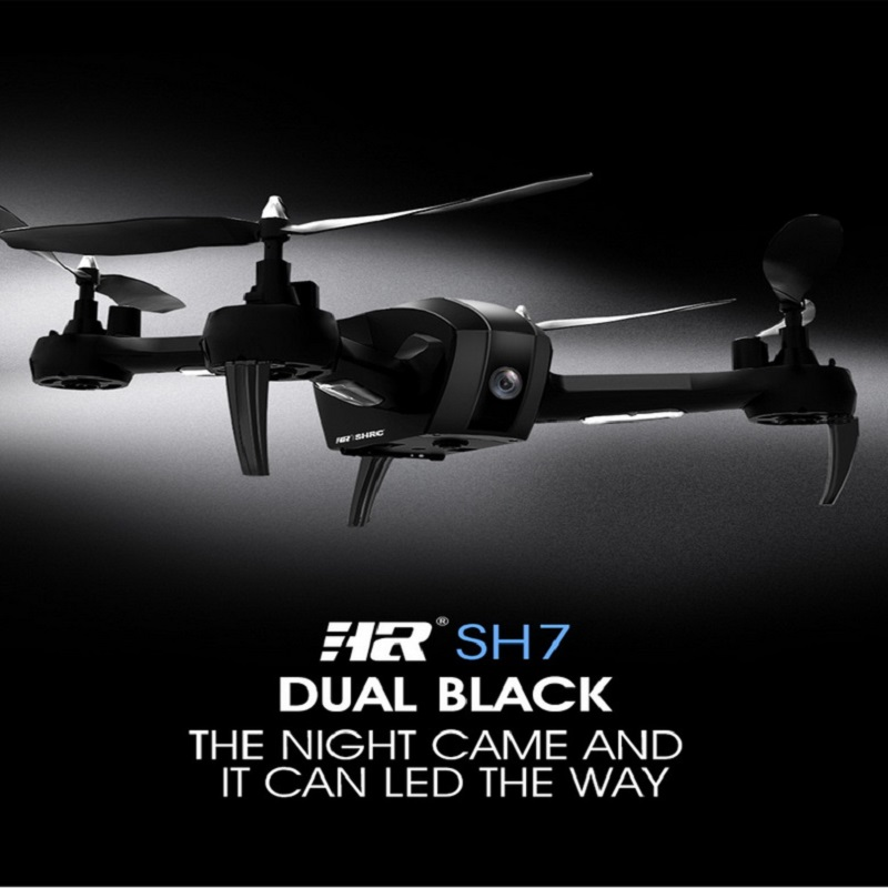 HR SH7 1080P WIFI FPV HD Camera RC Quadrocopter Set Height Hovering One Key Automatic Return