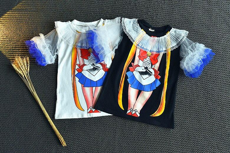 MESOLO 2018 новолуние дикий кролик с рисунком Одежда для девочек модная шаль обрезки INS Лидер продаж Детская одежда бутик