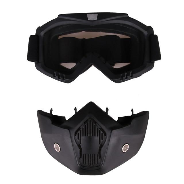 Online-Shop 5 Farben Transparente Gläser und Taktische Maske für ...
