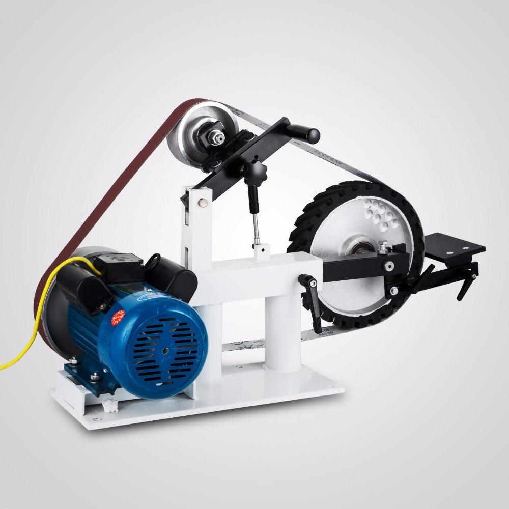 4 колеса конструкция пояса измельчители 2 Hp 220 вольт ленточная шлифовальная машина 2 х 82 2800r/мин Точильщик постоянная Скорость