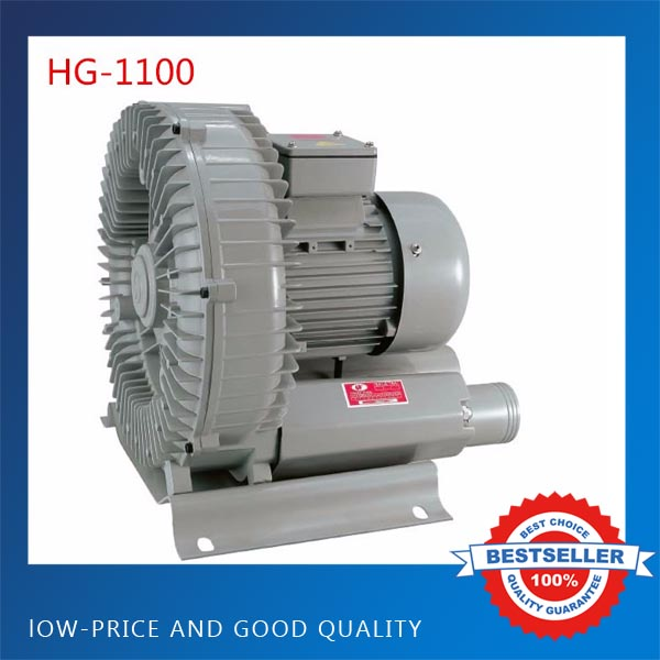 HG-1100 Big Capacity Fish Pond Oxygen Machine Aerator Vortex Type Air Pump High Pressure Air Blower high quality export type oxygen pressure regulator brass type