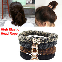 5PCS/10PCS Headwear elastic Hair bands Accessories Rubber on piece Rope Elastic Bands For Girls Kids Children cheap