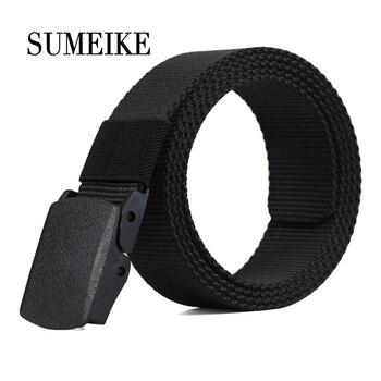 110-130CM Outdoor Nylon Belt Male Army Military Tactical Belt Men's Waist Canvas Belts Cummerbunds Strap
