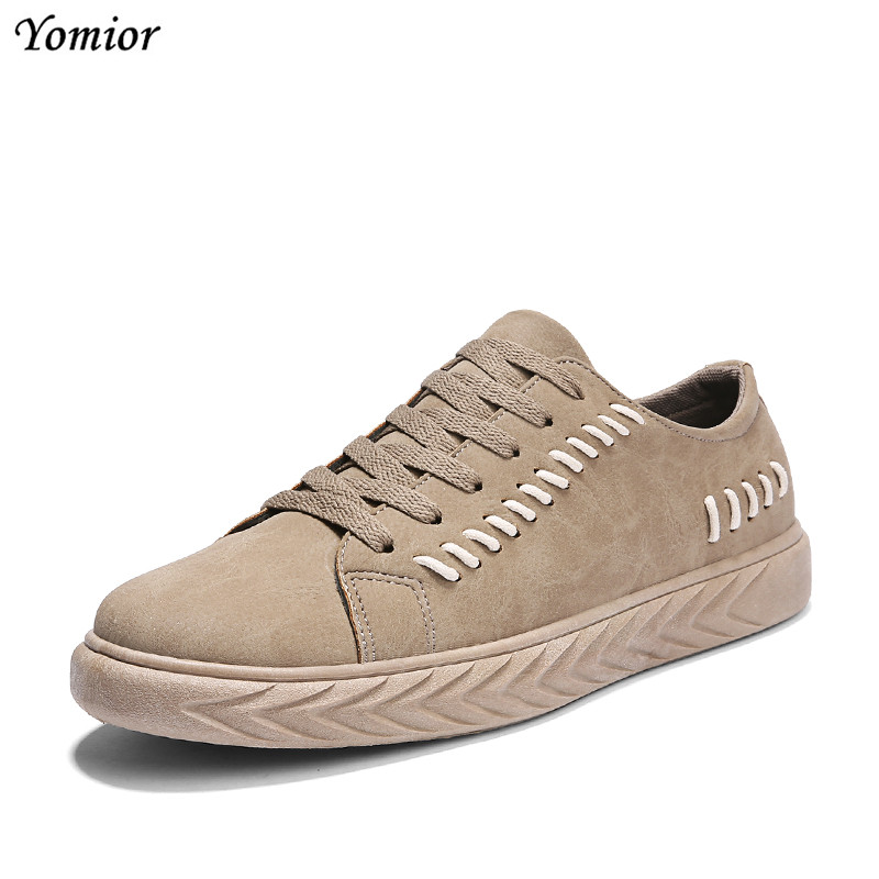 Casual Noir Qualité Adulte Mode Hommes Confortable Noir Yomior Respirant gris Été kaki Up Dentelle Marche De Chaussures Sneakers Printemps a5xW7ngP87