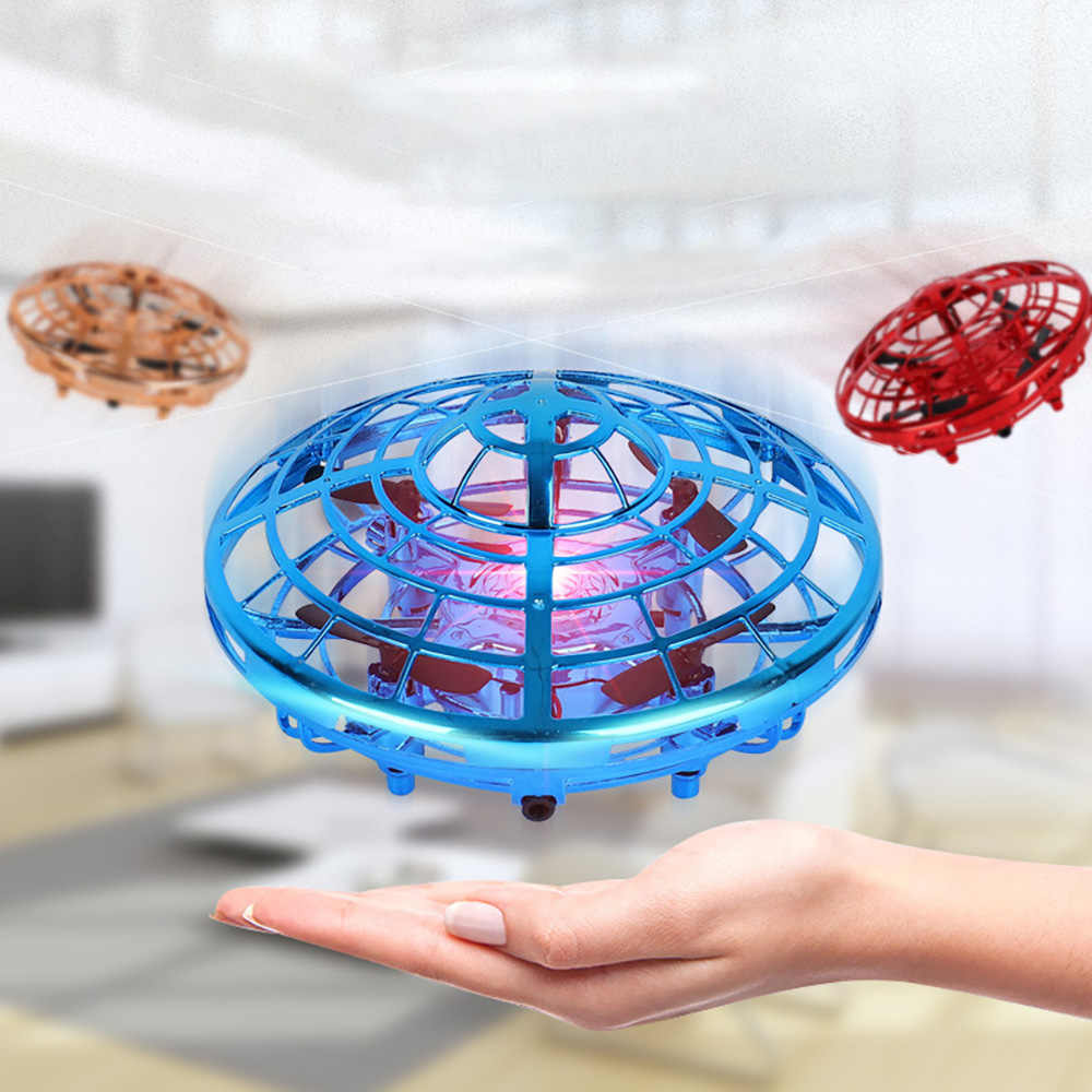 Induction Anti-Collision for UFO Mini Drone Hand Flying Globe Hand Controlled Helicopter Induction Flying Ball Aircraft RC Toys
