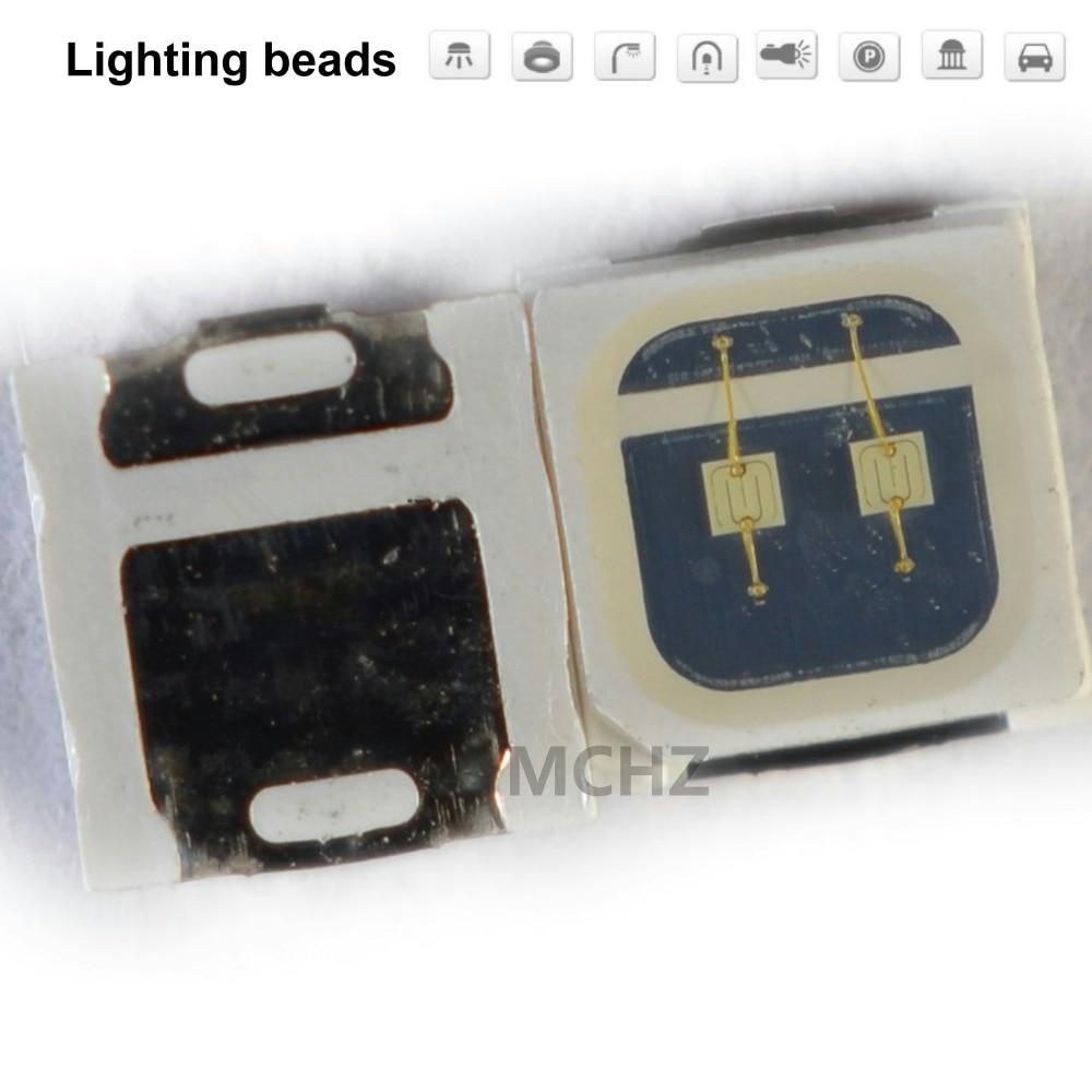200 pièces 3030 SMD/SMT LED vert SMD 3030 LED montage en saillie vert 3V ~ 3.6V 520-525nm Ultra Birght diode LED puce 3030 vert
