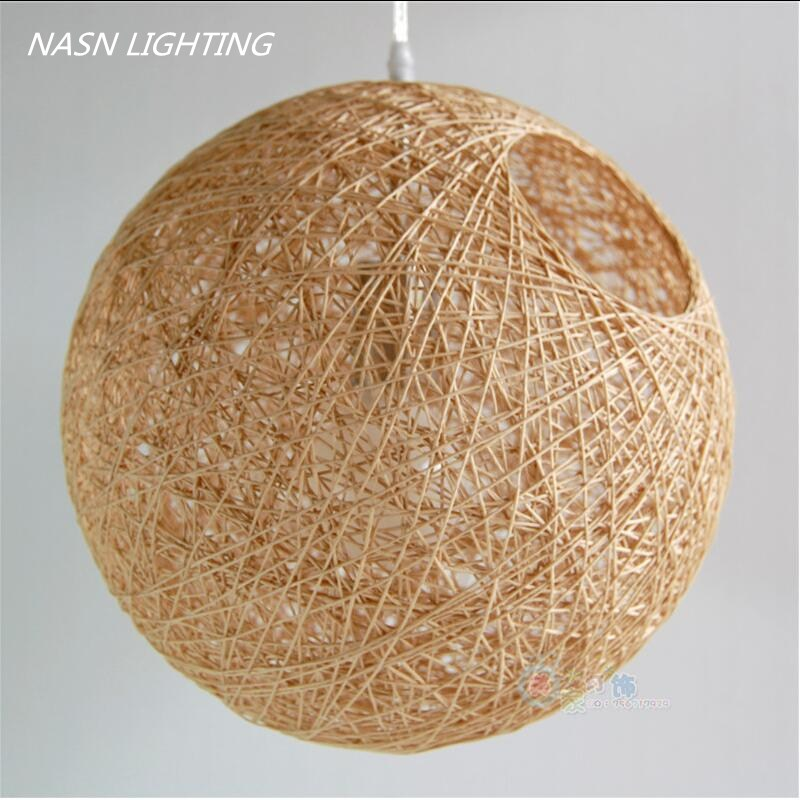 modern rattan work wicker Modern Wicker Sepa Takraw Pendant Lamp Good Price Pendant Lamp With Cane shade pendant light lighting