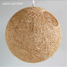 modern rattan work wicker Modern Wicker Sepa Takraw Pendant Lamp Good Price Pendant Lamp With Cane shade pendant light lighting