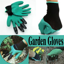 Garden Gloves With Fingertips Claws Quick Easy to Dig and Plant Safe for Rose Pruning Gloves Mittens Digging Gloves Hot Sale