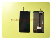 Wyieno 100 Tested Black Sensor For Cubot Dinosaur Touch Screen Digitizer With LCD Display Screen Full