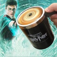 Harry Potter Automatische selbst rühren becher Tasse harry potter kaffeetasse Tassen Edelstahl Tasse Überraschung geschenk für best friend