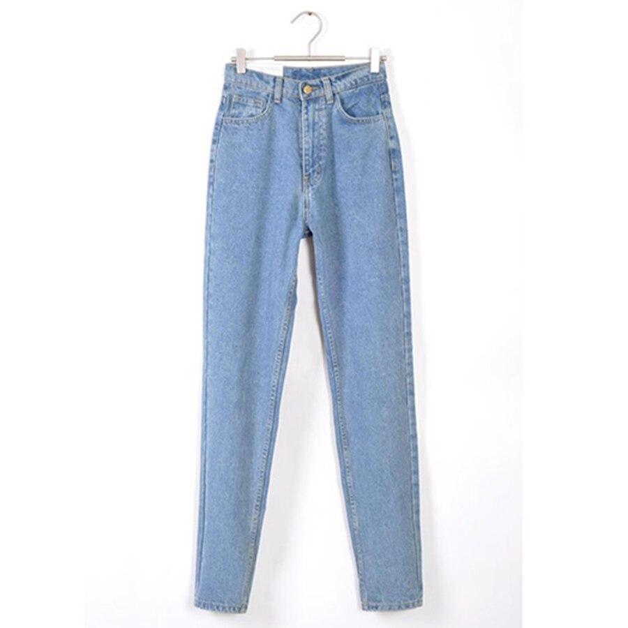 f08d6f28b13 Фото 1 Винтаж джинсовые Капри женские мама Джинсы бойфренда с высокой  талией джинсы для женщин джинсы ...