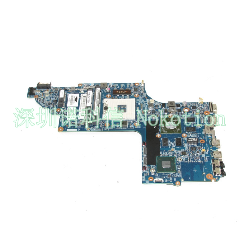 NOKOTION 681999-501 681999-001 laptop motherboard For HP pavilion DV7 DV7T DV7-7000 17 Inch GT630M Graphics Mainboard works ce link mini dp к vga мини displayport патч корд
