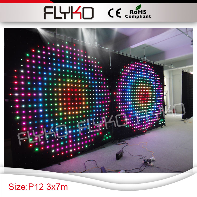 Dj Booth For Sale >> Us 2146 0 120mm Pixel Pc Controller High Quality Led Party Equipment For Sale Dj Booth Table Led Video Curtain In Stage Lighting Effect From Lights