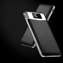 18650 Запасные Аккумуляторы для телефонов 20000 мАч внешний Батарея Портативный мобильного телефона Зарядное устройство Универсальный двойной USB Мощность банка для телефонов Планшеты