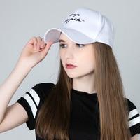 2017 Adjustable Baseball Sap Women Summer Letter Keep Snapback Hats For Girls Unisex Cotton Hats Men