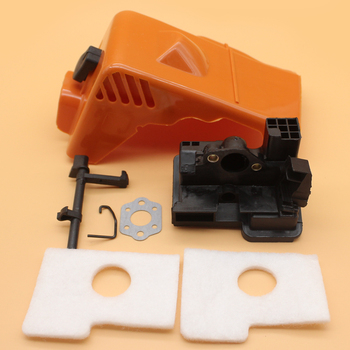 Top Engine Cylinder Cover Carburetor Adapter Air Filter Kit For STIHL MS180 MS170 MS 180 170 018 017 Gas Chainsaw Spare Parts dle170 carburetor original for 170cc dle gas engine