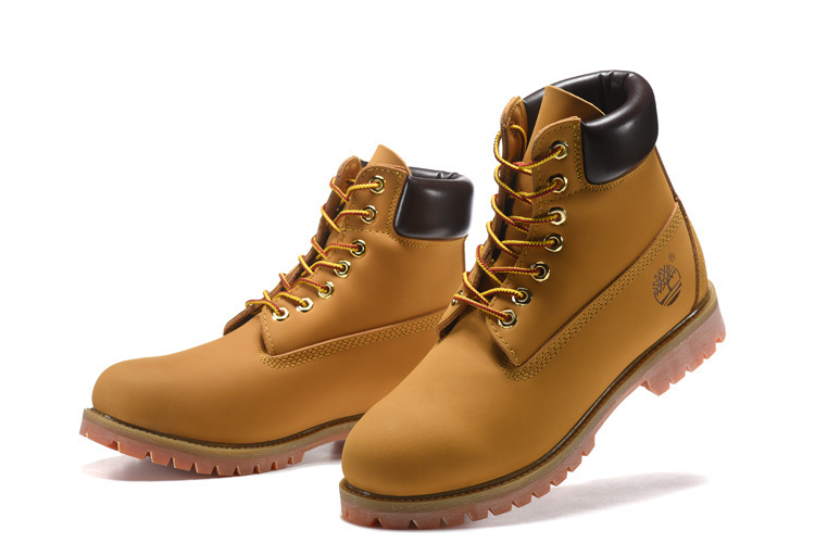 TIMBERLAND Men Classic 10061 Wheat Spring Yellow Ankle Boots,Man Male Leather Outdoor Casual Shoes Oversea Simple Version 40-45 1