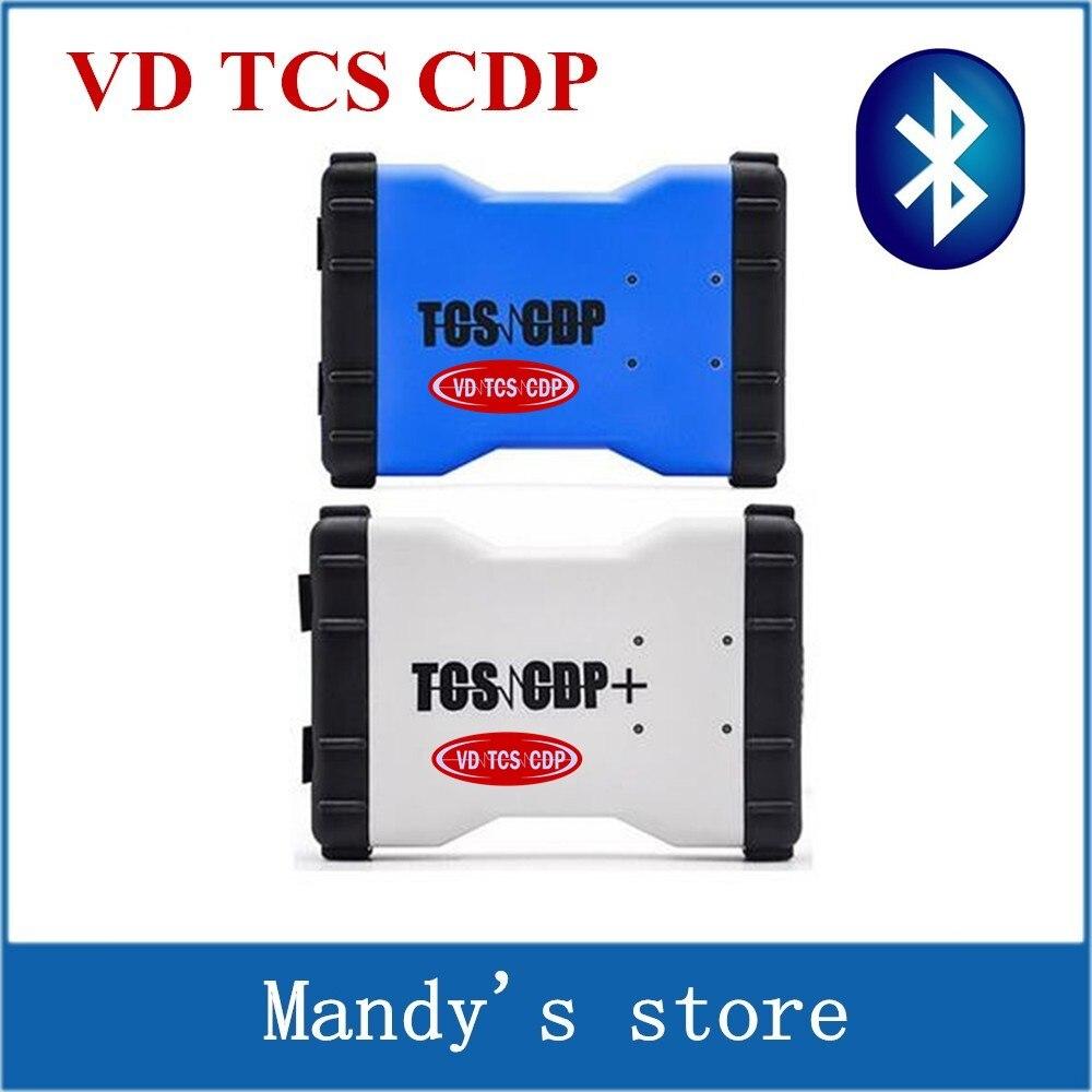 Prix pour VD TCS CDP PRO Plus Avec Bluetooth 2015. R1/2014. R2 logiciel comme MVD Multidiag pro + 3 dans 1 outil de diagnostic