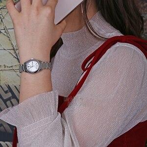 Image 5 - セイコー女性腕時計 5 自動腕時計女性トップブランドの高級防水レディースギフト時計時計リロイmujer montre femmesymk131