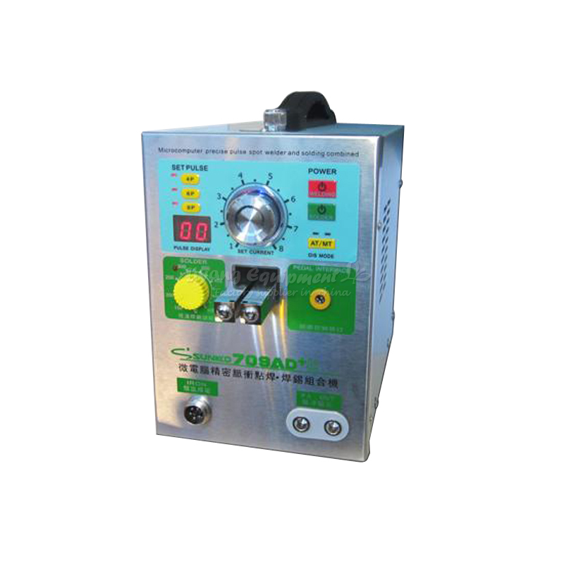 Spot-weld Machine S709AD+ Small hand-held inductance Quick spot welding Battery spot welder Q10126 thermocouple spot welding machine tl weld metal ball lotus wire feeder thermocouple welding