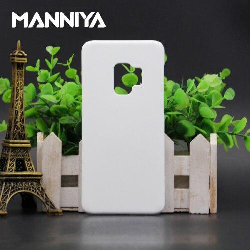 MANNIYA サムスンギャラクシー S9/S9 + 3D 昇華電話ケース送料無料! 100 ピース/ロット  グループ上の 携帯電話 & 電気通信 からの ハーフラップケース の中 1