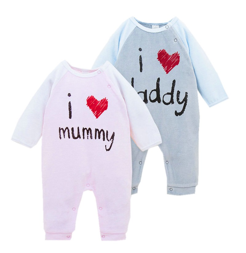 Newborn Baby Boys Girls Rompers Long Sleeve Velvet Baby Clothing  Infant Coveralls Clothing Toddler Jumpsuit  KF072 cotton baby rompers set newborn clothes baby clothing boys girls cartoon jumpsuits long sleeve overalls coveralls autumn winter