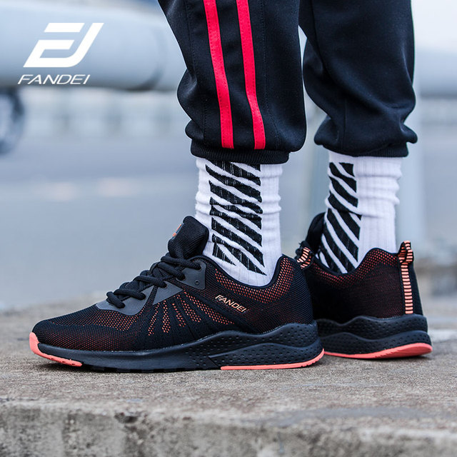 FANDEI Winter Running Shoes For Men Sneakers Sport Shoes for Male Outdoor Walking Sneaker Lace-up Breathable Mesh Mens Trainers 1