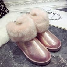 Winter shoes snow boots high quality Woman women ankle autumn female australian ug boos australia spring botas femininas