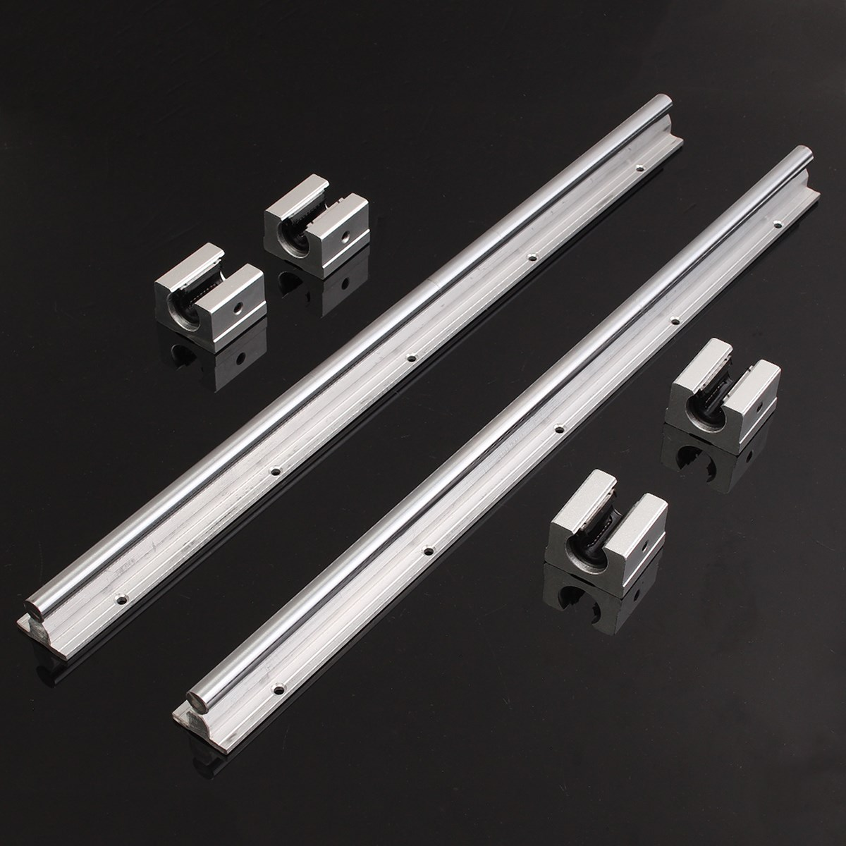 Best Price 2X SBR12 475mm Linear Rails + 4pcs/lot SBR12UU for 12mm Shaft Support Rail cnc parts High-carbon steel best price natural fructus corni extract shan zhu yu supplier 800g lot