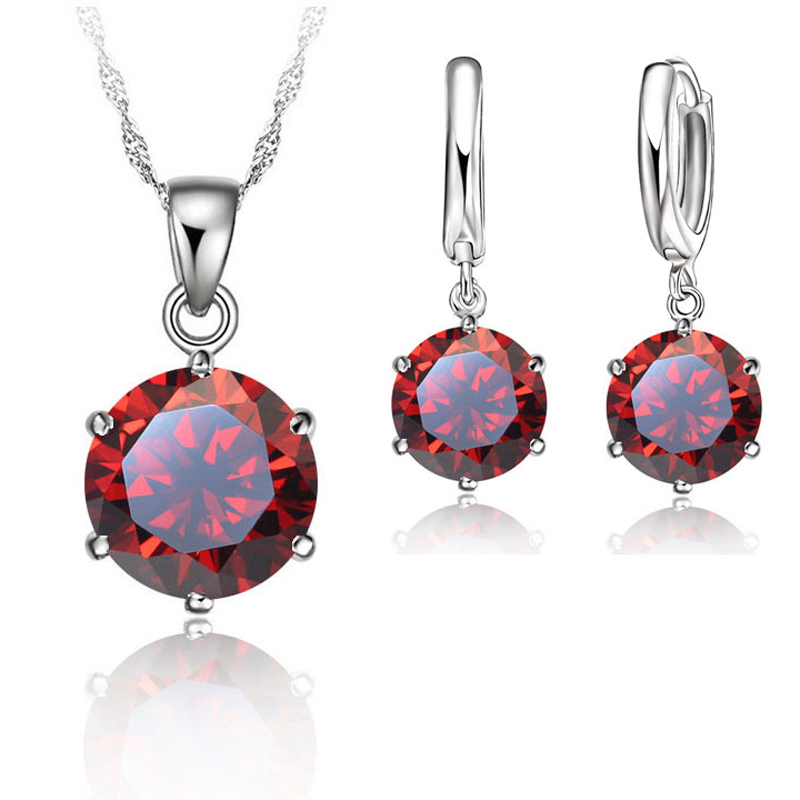 JEXXI Classic Bridal Wedding Jewelry Set For Women S90 Silver Color - Fashion Jewelry - Photo 3