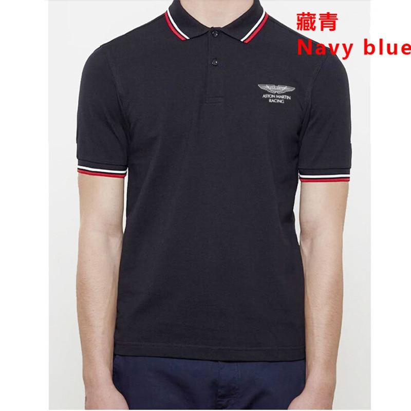 2017 Sommer Herbst Neue Männer Boutique Stickerei 100% Baumwolle Polo-shirt Männer Business Solide Revers Schlank Camisa Polo Masculina Geschickte Herstellung