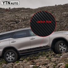 car stickers decals 2PC mud styling side door graphic vinyls accessories protect decal custom for toyota FORTUNER